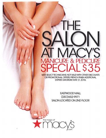 Macy's Salon Special