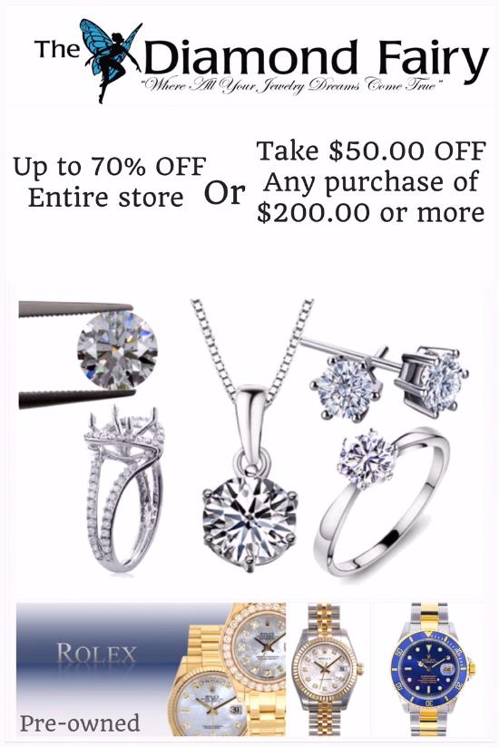 The Diamond Fairy Promotion at The Diamond Fairy