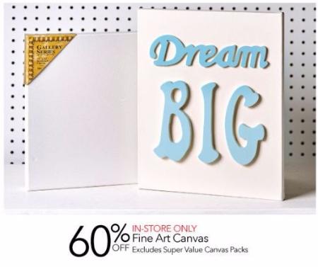60% Off Fine Art Canvas