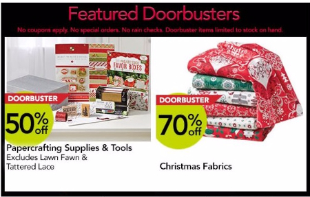 Up to 70% Off Black Friday Doorbusters