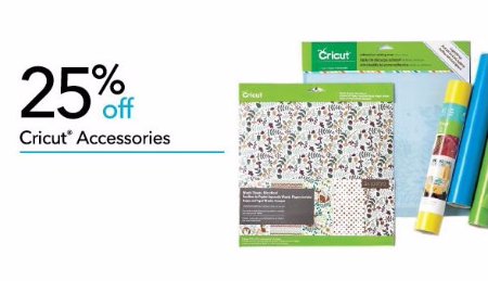 25% Off Cricut Accessories