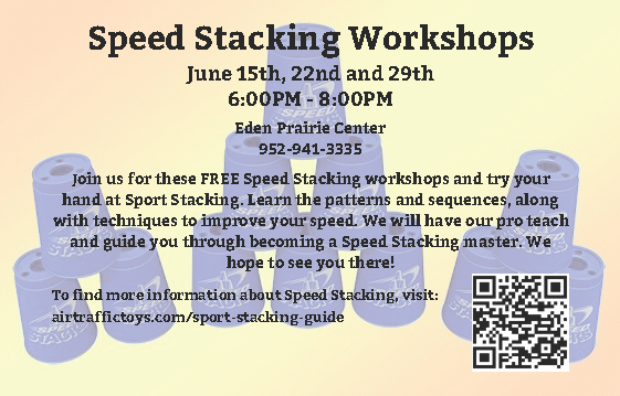Speed Stacking Workshop