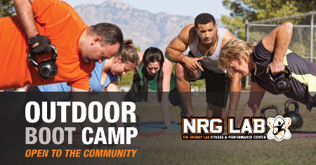 Come join our Outdoor Boot Camp!