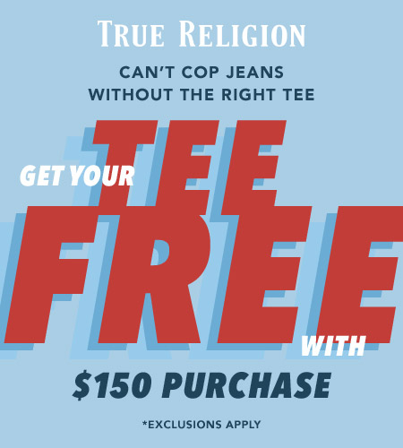 Citadel Outlets ::: PLEDGE ALLEGIANCE TO THE SWAG ::: True Religion ...