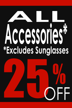 All Accessories 25% Off!