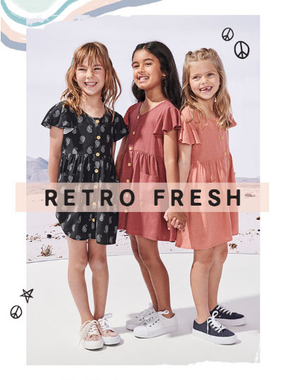 Retro Fresh from Cotton On Kids
