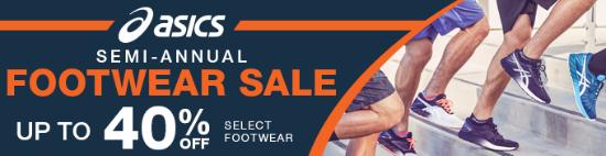 ASICS® Semi-Annual Footwear Sale