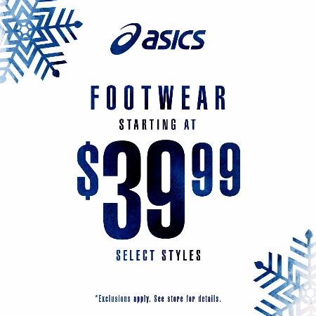 ASICS® for the Holidays!