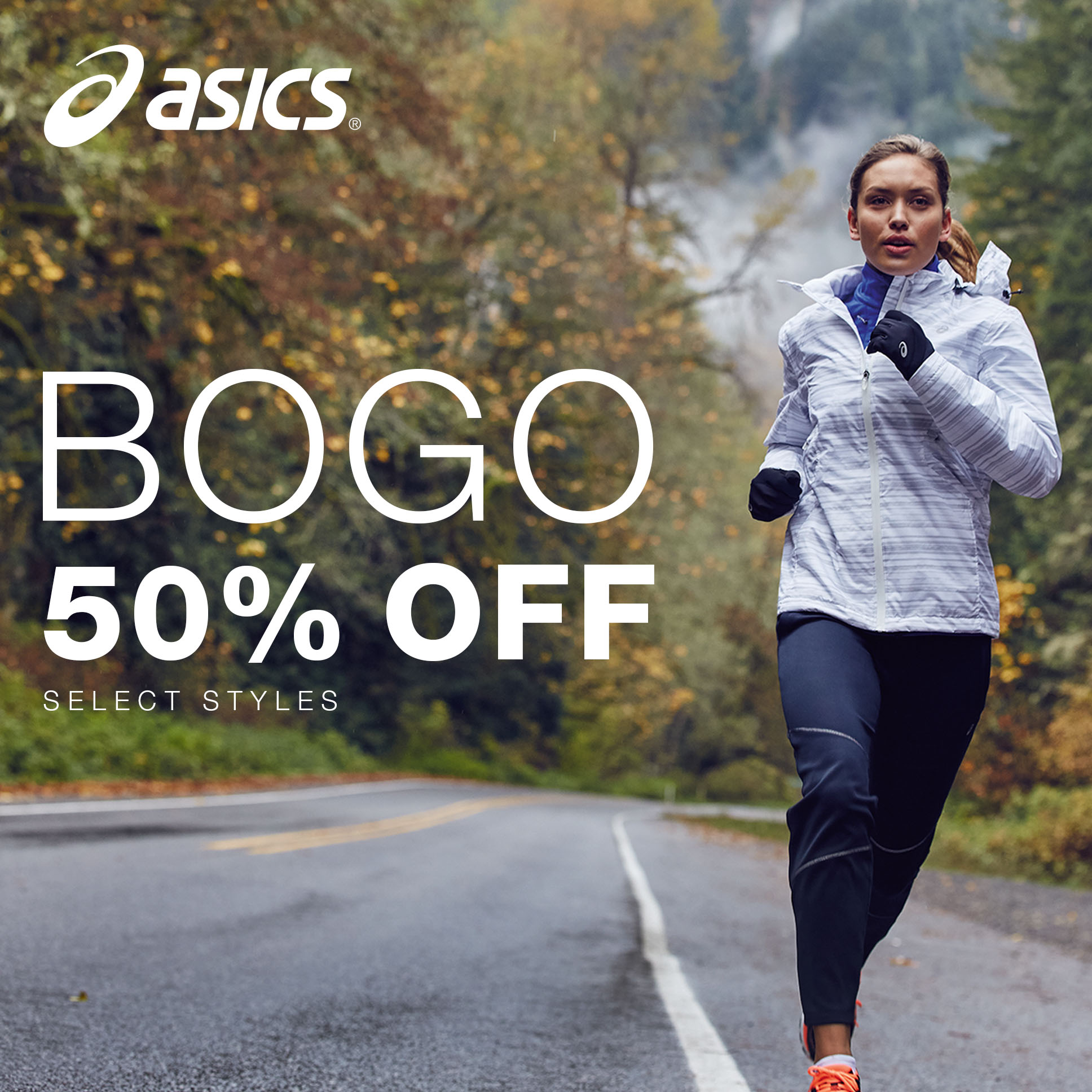 BOGO 50% Off Select Footwear and Apparel