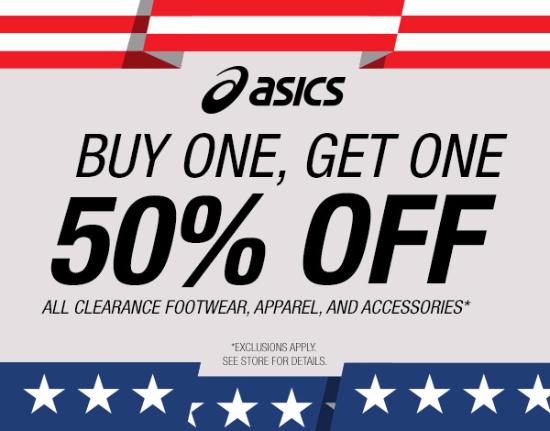 ASICS Presidents' Day Sale