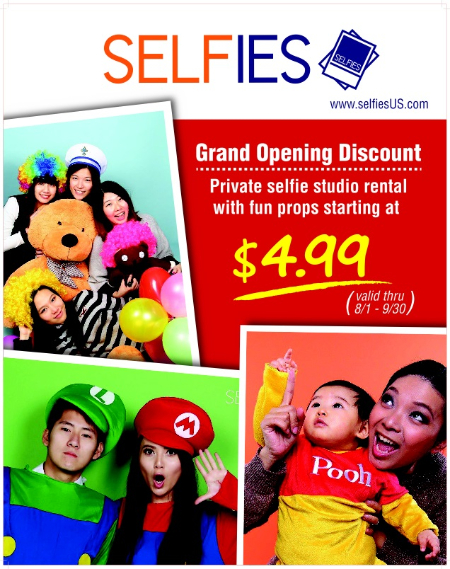 Selfies: Private selfie studio rental! at Selfies (Now Open!)