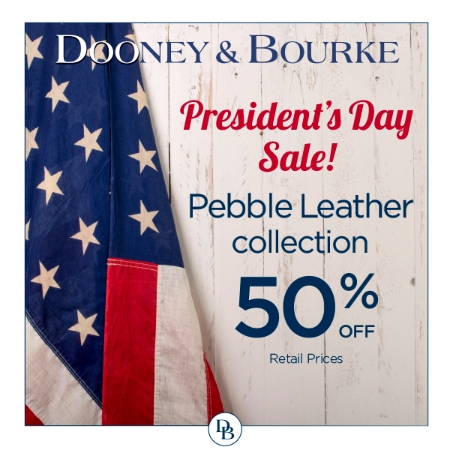President's Day Sale! Pebble collections 50% off retail prices