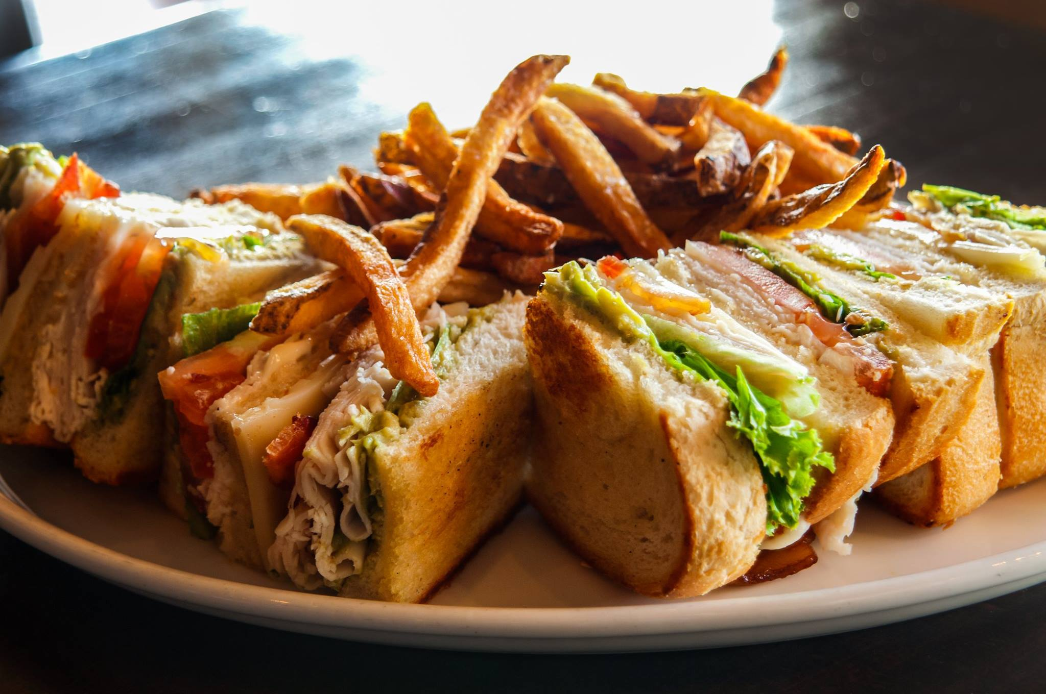 Sandwiches. The Prairie Tap House