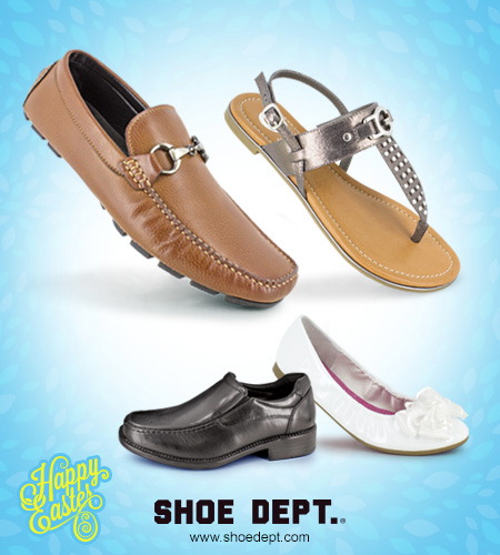 SHOE DEPT. | Celebrate Spring Styles!