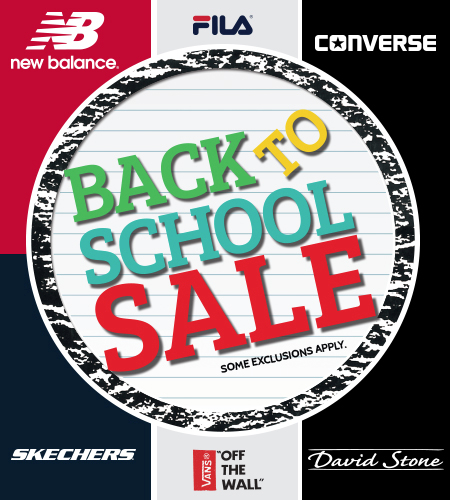BACK-TO-SCHOOL EVENT at SHOE DEPT.