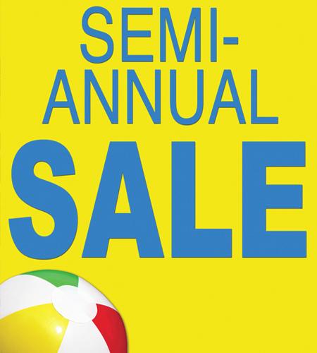Semi-Annual Sale! at SHOE DEPT.