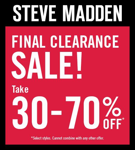 Final Clearance Sale!