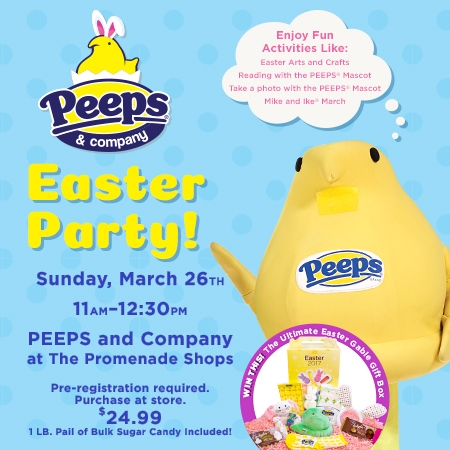 Easter Party at Peeps