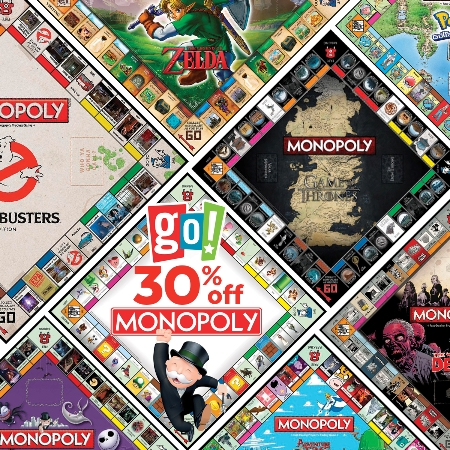 30% OFF MONOPOLY