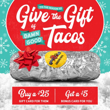 The Rim Shopping Center Holiday Gift Card Promotion At Torchy S