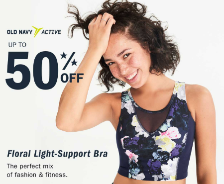Old Navy Active Up To 50% Off