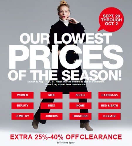 Our Lowest Prices of the Season