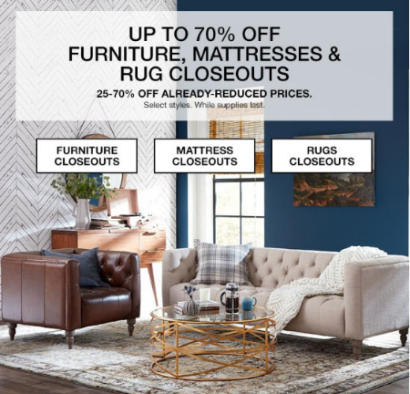 Charmant Up To 70% Off Furniture, Mattresses U0026 Rug Closeouts
