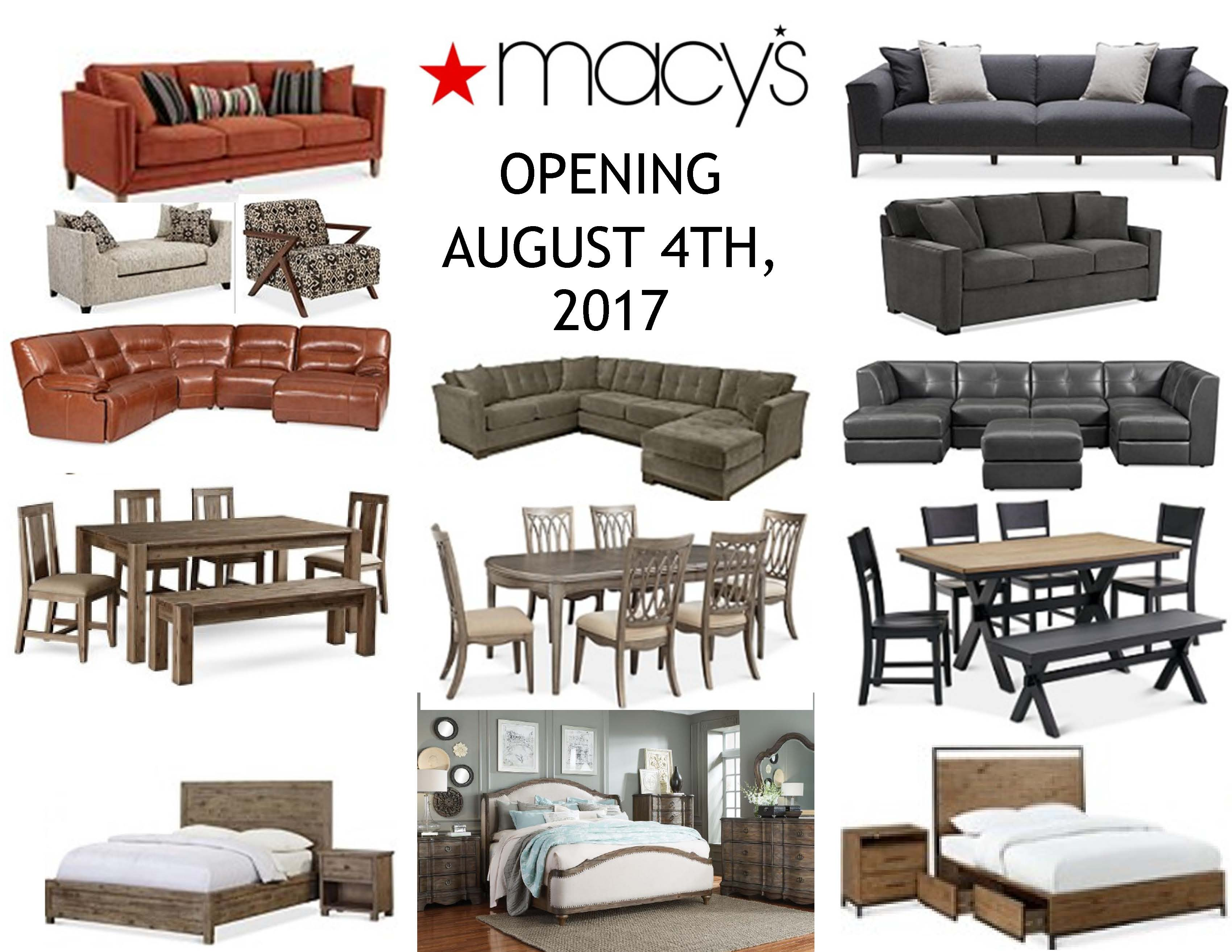 MainPlace Mall ::: New Furniture Department ::: Macy's