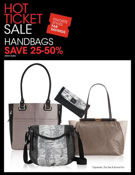 Save 25-50% on Handbags at Macy's