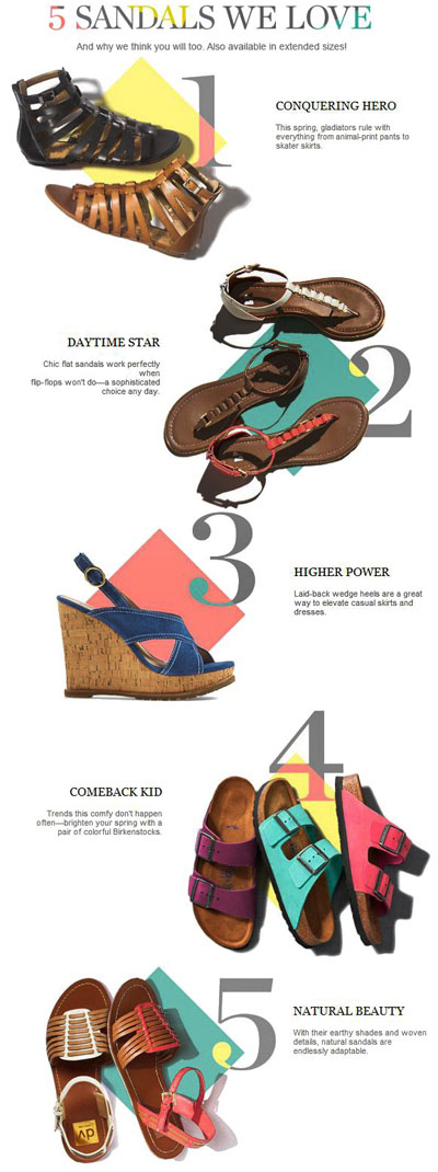5 Sandals We Love at Nordstrom