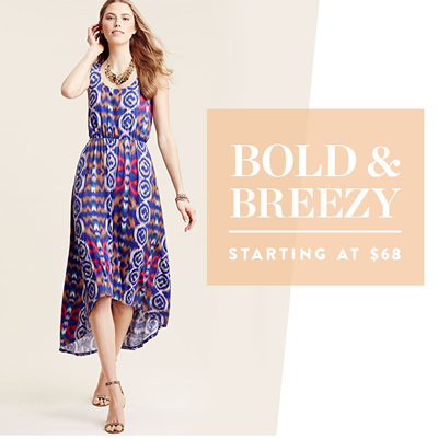 Bold & Breezy Starting at $68 at Nordstrom