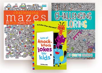 6 Great New Activity & Joke Books for Kids