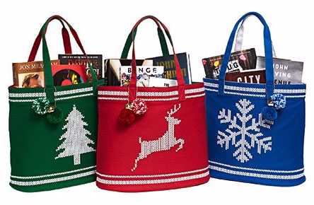 Exclusive Fair Isle Canvas Tote Only $12.95