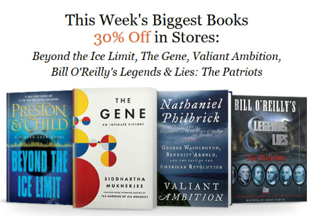 30% Off Books