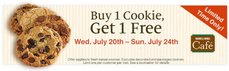 Buy 1 Cookie, Get 1 Free