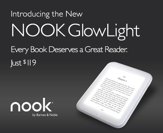 Introducing the New NOOK GlowLight! at Barnes & Noble
