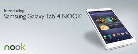 Introducing Samsung Galaxy Tab 4 NOOK at Barnes & Noble