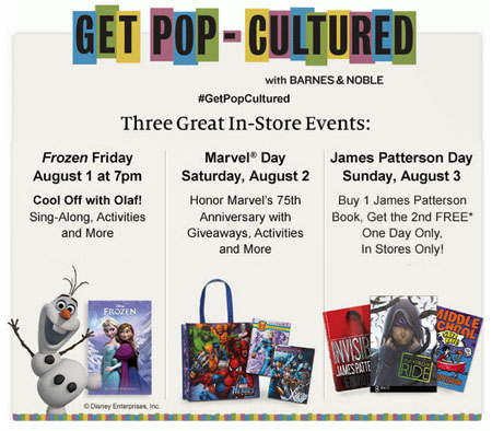 Get Pop-Cultured With Barnes & Noble at Barnes & Noble