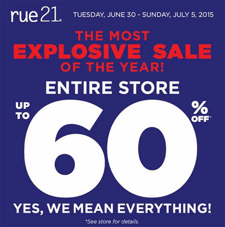 rue21 (((Coming Soon)))
