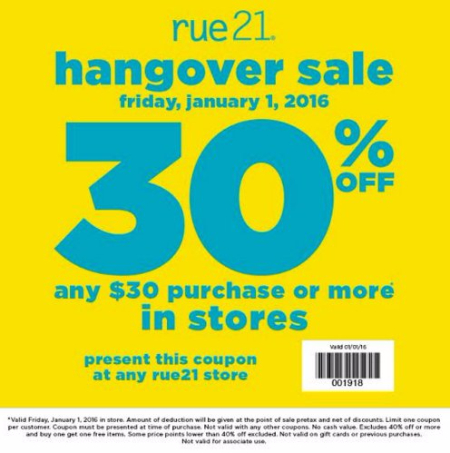 picture regarding Rue 21 Printable Coupons named Rue21 sale coupon codes : Pizza specials inside peterborough ontario