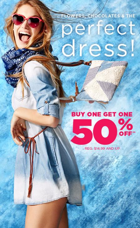BOGO 50% Off Dress