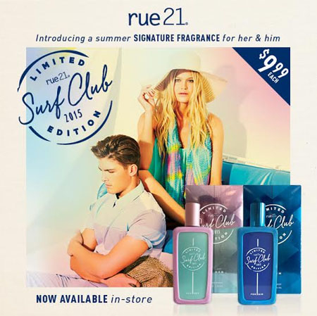 Introducing a Summer Signature Fragrance For Her & Him! at rue21