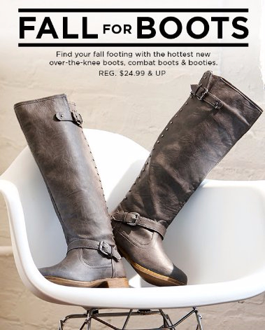 Discover The Hottest New Over-The-Knee Boots, Combat Boots & Booties