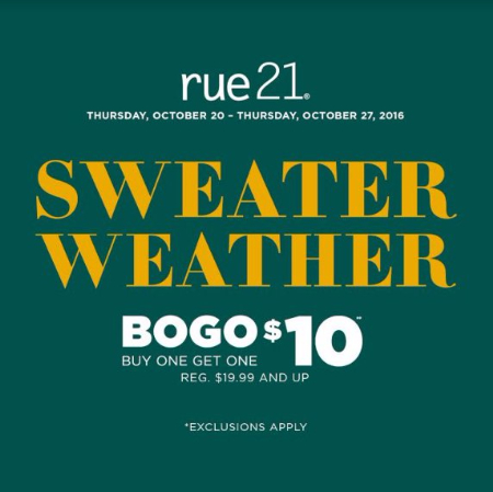 Sweaters Buy One Get One $10