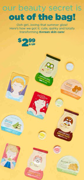 Get the Glow with New Korean Skin Care
