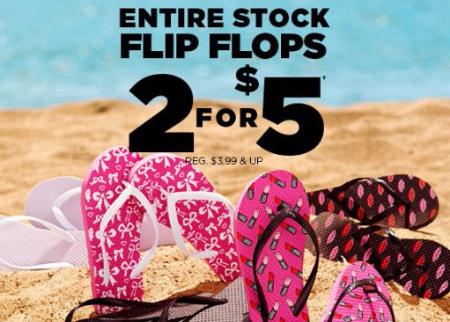 Flip Flops 2 for $5