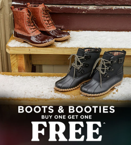 0e39b075bea Genesee Valley Center ::: BOGO Free Boots & Booties ::: rue21