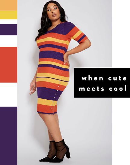 Military Circle Mall Sweater Dresses Ashley Stewart