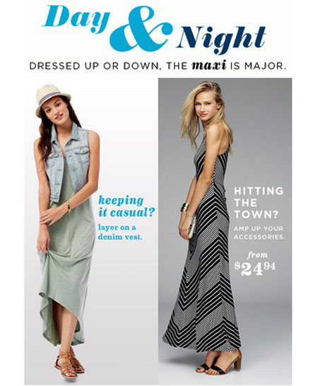 The Perfect Dress for Day or Night at Old Navy