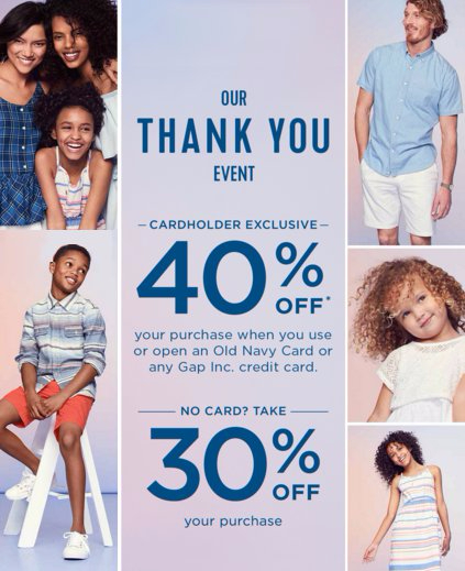 Take 40% Off Your Purchase